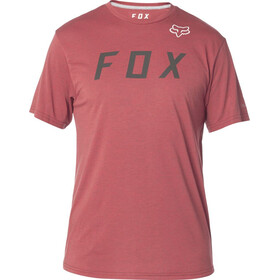 Fox Grizzled Tech SS Tee Men heather red